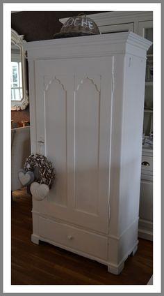 Prachtige gerestylede antieke 1-deurs kast 2