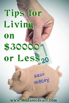 Family Home Budget Tips for Living on $30000 or Less #frugal