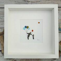 The Balloon Seller    The first installment of a classic story... I have sketched out the ending... No spoilers sorry 😉    @pebblestories   #pebbleart #pebblepicture #makersinwales #elephantsandbananas #etsyart #etsypebbleart #welshart #seaglassart #upcycledart #recycledart #pebblestories #glassbydesign #originalwallart  #familygift #familyart  #Inspiration #seahamseaglass #seaham #interiordesign #painting #balloonseller #balloonart