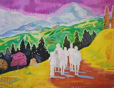 sunday afternoon art crushing: armin rohr #expressions Figure Painting, Painting & Drawing, Miss Peregrine's Peculiar Children, Peter Doig, Figurative Kunst, Contemporary Artists, Landscape Paintings, Photo Art, Imagination