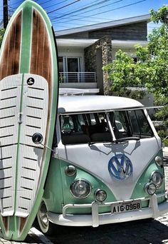 VW that surf board tho
