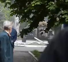 "Armor moving against civilians: Tanks, armed assault in Mariupol city center. Kiev coup-installed government have orders ""not to take anyone alive. Policemen who refused to obey Kiev orders are shooting back."