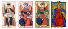 Justice (Ancient Tarot of Marseille)