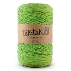 TEK-TEK® BARBANTE | Green Yarn #tektekyarn #barbante #tek-tek #yarn www.tektek.pt