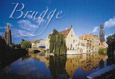 PK1265. Brugge. Belgien. Rozenheodkaai.