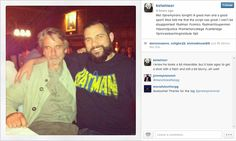 Worlds Finest News | Jeremy Irons Spotted, Talks Script with Fans