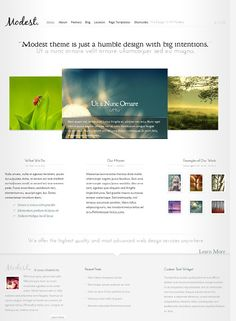 Modest #Wordpress THeme  Want to create your own website on Wordpress themes and want to hire an wordpress agency for your website than i   suggest you the One Mega Workers ..  http://www.megawebpackage.com