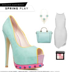 Play it up in pretty pastels. #ShoeDazzle