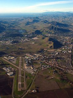 San Luis Obispo Airport; where I learned to fly