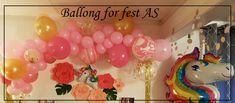 Ny garland for bursdag. Garland, Balloons, Globes, Balloon, Garlands