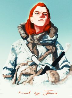 Kissed by Fire by kristafer anka, via tumblr