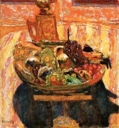 Bowl of Fruit / Pierre Bonnard - 1933
