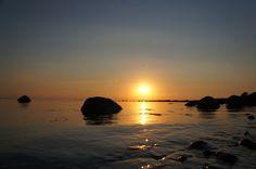 Sunset in Grå Läge