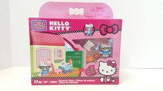 Mega Bloks Hello Kitty 10892 Science Class 17pc 4+ New #MegaBloks