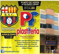 Desde mañana encuentra tu album y cromos del Ídolo del Ecuador BSC en MILAGRO! Encuentralos en PLASTIFERIA!