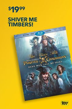 Available Tuesday 10/3: Pirates of the Caribbean: Dead Men Tell No Tales. Everybody's favorite gold-loving pirate and guy-liner aficionado, Jack Sparrow, is back in the fifth installment of the Pirates of the Caribbean franchise. Take to the seas and follow the latest adventure of the Black Pearl crew. Yo ho ho!
