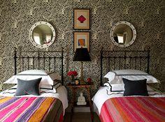 China Seas Arbre de Matisse Reverse wallpaper design by Patrick Mele