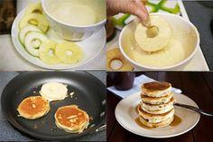 PIña+manzana+masa de tortitas