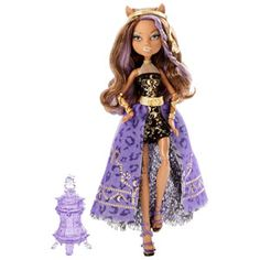 Monster High 13 Wishes Haunt the Casbah Clawdeen Wolf