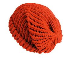 e410b1a6361 Christmas red bohemian grunge classic style unisex slouchy beanie hat. Hand- woven on a round loom with two strands of double knit acrylic wool