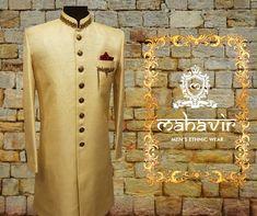 To buy visit our store in Chandni Chowk! Gents Kurta, Mens Ethnic Wear, Mens Sherwani, Groom Wear, Wedding Wear, Indian Wear, Festival Fashion, Cool Designs, Shop Now