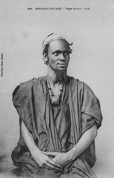 """dynamicafrica: """" Colonial vintage portraits taken in Senegal and Guinea-Conakry. African Culture, African History, African Art, African Tribes, African Diaspora, Guinea Conakry, Fulani People, Anthropologie, Tribal Warrior"""