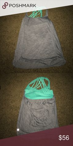 LuLuLemon Tank Never worn lulu top. Love it never got a chance to wear it. This too was discontinued that's why the price is a little higher lululemon athletica Other