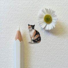 Lorraine Loots creates amazing, tiny paintings.