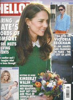 Hello magazine Kate Middleton Victoria Beckham Kimberley Walsh Barack Obama