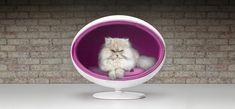 Padpod, una moderna cama de lujo para mascotas  http://www.icono-interiorismo.blogspot.com.es/2014/10/padpod-una-moderna-cama-de-lujo-para.html