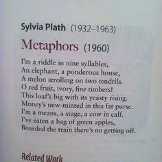 essay metaphors sylvia plath