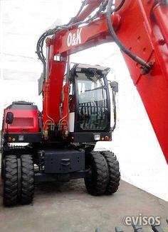 EXCAVADORA SOBRE RUEDAS  O&K EXCAVADORA SOBRE RUEDAS  O&K  EXCAVADORA NEUMATICA O&K IMPORTADA ALEMANA DEL 2007 4000 HORAS ... http://lima-city.evisos.com.pe/excavadora-sobre-ruedas-o-k-id-611868