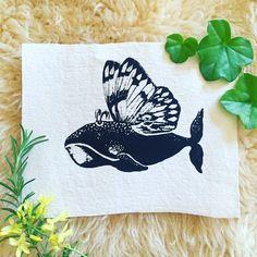 Whalerfly patch by LimberlostArts on Etsy <3