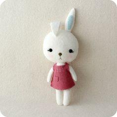 Pocket Bunny pdf Pattern - Instant Download