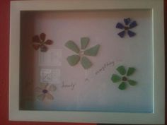 Hoping to get enough sea glass to make this cool project