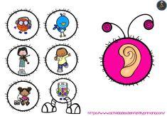 Trabajamos los 5 sentidos con este divertido gusano - Imagenes Educativas 5 Senses Craft, Five Senses Preschool, Senses Activities, Preschool Learning Activities, Preschool Education, Kindergarten Science, Kindergarten Worksheets, Kindergarten Classroom, Classroom Themes