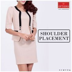 Make sure the top of your sleeves sits on the bony tops of your shoulder, rather than dropping down the arm. Shopping Tips, Mumbai, Style Guides, Arm, Dresses For Work, Blazer, Shoulder, Sleeves, How To Make