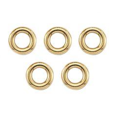 Links of London Bag of 5 18K Yellow Gold Vermeil Sweetie Rings