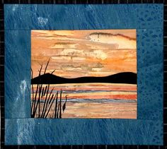 Accidental Landscapes - Lakes Pattern - The Virginia Quilter
