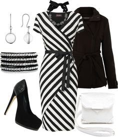 """""""it's black, it's white"""" by borntoread ❤ liked on Polyvore"""