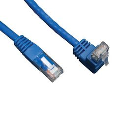 50Ft Cat.7 SSTP Patch Cable 600MHz Molded Blue