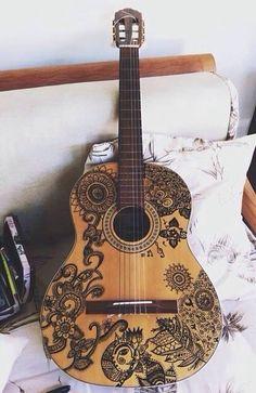 Guitare dessin