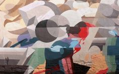 Roids MSK x SatOne New Mural @ London