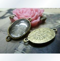 13x18mm 20X Bronze Oval Cameo Setting Y439