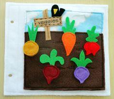 Garden Quietbook Template — Crafthubs