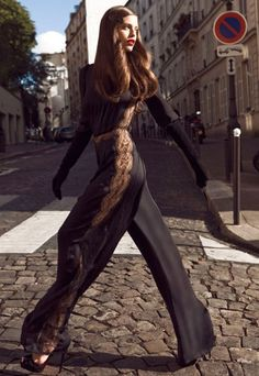 Glamorous Chic Life- long legs and power