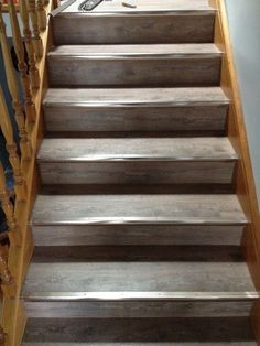 Luxury Vinyl Wood Planks On Stairs LVT Vinylwood Youll Find