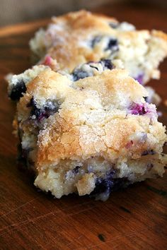 Lemon-Blueberry Breakfast Cake (we love everything about the concept of 'breakfast cake')