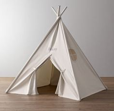 Solid Canvas Play Tent | Tents | Restoration Hardware Baby & Child