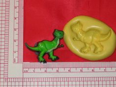 Toy Dinosaur Character Silicone Push Mold Food #164 Cake Chocolate Candy Sugar #LobsterTailMolds